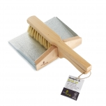 ecoLiving dustpan and brush set - with magnets (100% FSC)