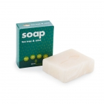 ecoLiving handmade soap with tea tree & mint 100g