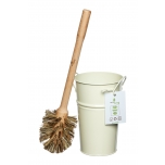 ecoLiving plastic free toilet brush & holder set