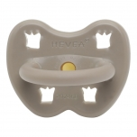 HEVEA pacifier Reindeer Grey orthodontic (3-36 months)