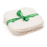 LittleLamb washable wipes in soft bamboo - 10 pcs