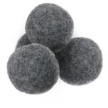 Woolli wool dryer balls  black - 4 pcs